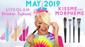 unicorn makeup tutorial ft glit glam