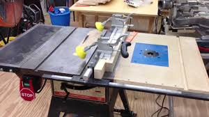 Craftsman Table Saw Improvements Youtube