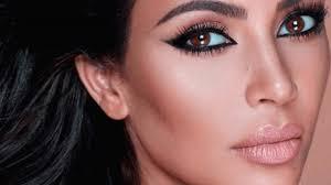 kim kardashian signature makeup look