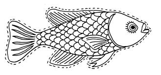 coloriage à dessiner poisson d'avril a imprimer tfou