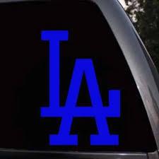 Vova Los Angeles Dodgers La Dodgers Team Logo Car Truck Window Laptop Decal Sticker