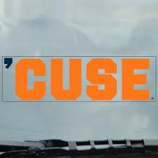Syracuse Cuse Static Cling Decal The Original Manny S Syracuse Team Shop