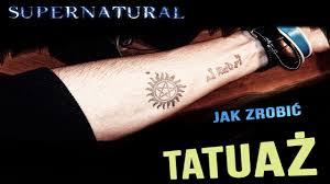 Jak Zrobic Czasowy Tatuaz Drukarka Atramentowa Youtube