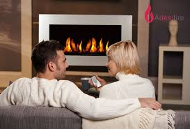 ethanol fireplaces a fire with remote