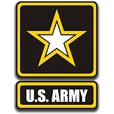 Amazon Com Officially Licensed U S Army Decals 4 Piece Us Military Stickers For Truck Or Car Windows Phones Tablets Laptops Large Military Decals 1 75 To 4 Inches Car Decals