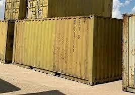 steel conex cargo storage