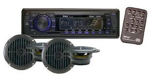 rv wall mounted cd player am fm radio