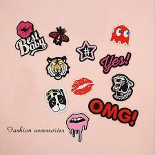 Hot Deal 310ef0 Fabric Embroidered Snake Mouth Patch Cap Clothes Stickers Bag Sew Iron On Applique Diy Apparel Sewing Clothing Accessories Bu78 Cicig Co