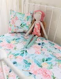 boho fl crib bedding girls nursery