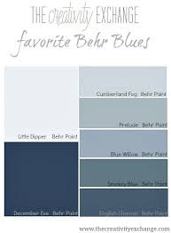 why behr paint blues are my favorite