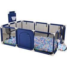 Baby Playpen Folding Indoor Outdoor Toddler Kid Safety Barrier Game Toddler Craw Safety Fence Sale Banggood Com