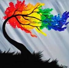 Image result for rainbow art