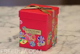 sparkle holiday box l occitane free diva