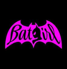 Batgirl Vinyl Decal Batman Sticker Girl Power Superhero Etsy
