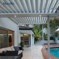 waterproof louvered roof patio system