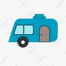 Vector Icono De Caravana Camping Icono Capming Caravana Png Y