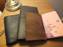 homemade midori style leather