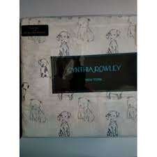 cynthia rowley full sheet set penciled