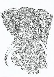 Kleuren Voor Volwassenen 9 X Gratis Kleurplaten Elephant