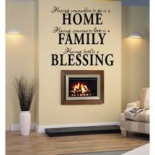 Shop Home Family Blessing Statement Wall Art Sticker Decal On Sale Overstock 11490841