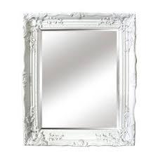 antique white ornate mirror ornate