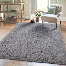 Amazon Com Super Soft Kids Room Nursery Rug 5 X 8 Grey Mordern Indoor Fluffy Area Rugs For Bedroom Living Room Baby Girls Boys Floor Carpets By Varycarry Kitchen Dining