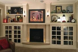 holly family room fireplace wall