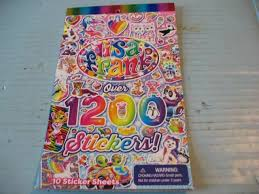 X3 Lisa Frank Sticker Book Tablet Over 1200 Characters Crafts Scrapbooking For Sale Online Ebay