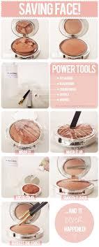 how to fix broken makeup pact