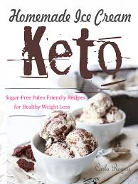keto homemade ice cream ebook by carla