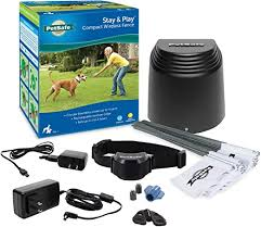 Amazon Com Petsafe Stay Play Compact Wireless Fence For Dogs And Cats From The Parent Company Of Invisible Fence Brand Above Ground Electric Pet Fence Petsafe Wireless