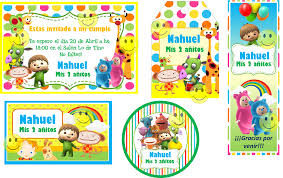 Kit Imprimible Baby Tv Candy Bar Tarjetas Con Foto Y Mucho Kit