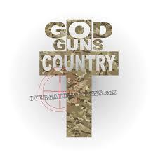 God Guns Country Cross Overwatch Designs