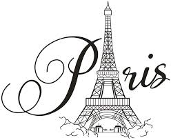 Amazon Com Boodecal Paris Eiffel Tower Wall Decals Lettering Quotes Wall Stickers Romance Decoration Living Room Bedroom 27 Inches X 22 Inches Home Kitchen