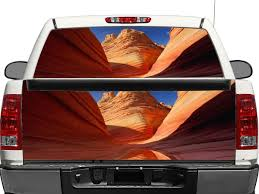 Product Grand Canyon Rear Window Or Tailgate Decal Sticker Pick Up Truck Suv Car Rear Window Decals Rear Window Tailgate