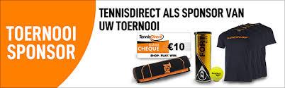Toernooisponsoring - TennisDirect.nl