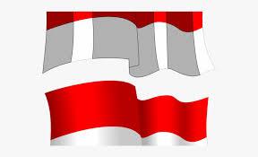 bendera merah putih art vector
