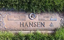 Ava Brilla Cook Hansen (1900-1984) - Find A Grave Memorial