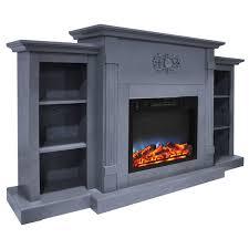 slate fireplace wayfair