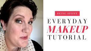 everyday makeup tutorial being spiffy