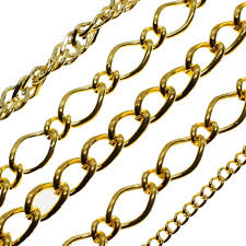 chain gold plated mixed 50g bag
