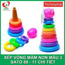 Mua online đồ chơi xếp tháp cho bé với giá tốt tại Lazada.vn