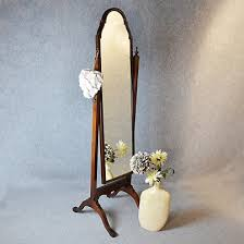 antique cheval mirror tall dressing