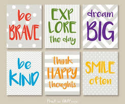 Motivational Quote Print Signs Download Kids Room Wall Art Set Primary Colors Printable Playroom Rul Art Wall Kids Kids Room Wall Art Kids Room Art Diy