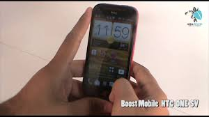 Boost Mobile HTC One SV unboxing ...