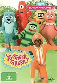 Yo Gabba Gabba Season 4 Volume 2 DVD: Cedric Gardner, Lori Coulis, Adam  Deibert, Lance Robertson: Amazon.com.au: Movies & TV Shows