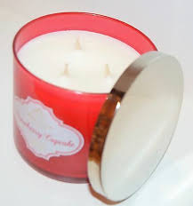 scented candle 3 wick 14 5 oz large red