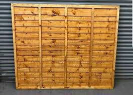 Wanley Feather Edge Fence Panels 6x6 Heavy Duty 32 Delivery Available Ebay