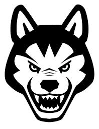 Ncaa1247 Northeastern Huskies Dog Logo Die Cut Vinyl Graphic Decal Sticker Ncaa