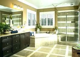 corner tub master bath shower only tile